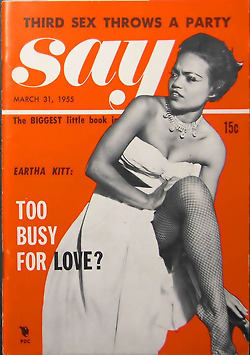 """Vintage """"Say"""" Magazine, March 31, 1955 