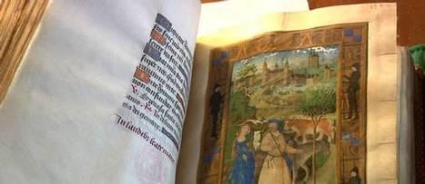 VIDÉO. Les incroyables trésors de l'histoire : le somptueux livre d'Heures de Charles de France | L'actu culturelle | Scoop.it