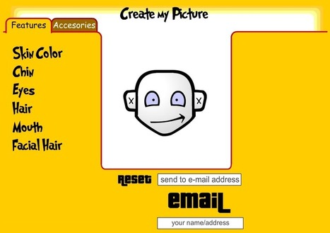 Create Avatar - Cartoon Avatar Generator by Create My Picture | Digital Delights - Avatars, Virtual Worlds, Gamification | Scoop.it