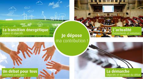 Débat national sur la transition énergétique | Bienvenue sur le site du Débat national sur la transition énergétique | Transitions | Scoop.it