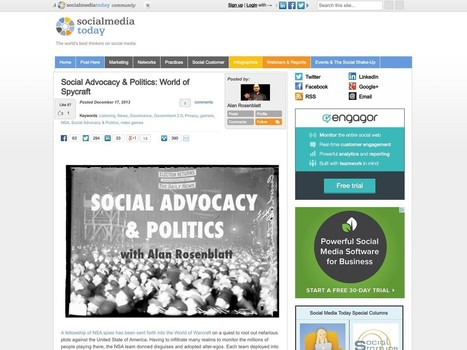 Social Advocacy & Politics: World of Spycraft | Science Technology, History and Politics | Scoop.it