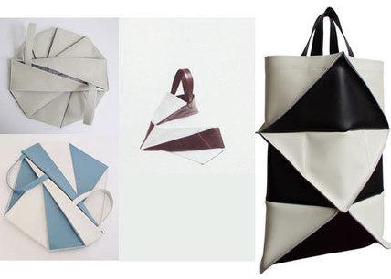 ORIGAMI BLOG » Origami Handbag | Couture, crochet et autres plaisirs | Scoop.it