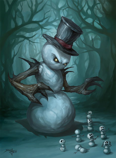 10 scary snowmen in honour of Doctor Who's The Snowmen   HiddenTavern   Scoop.it