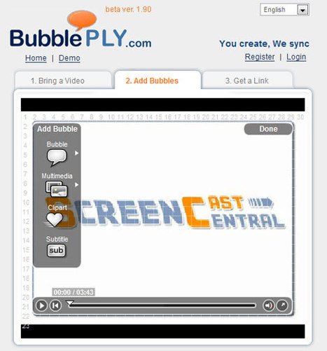 BubblePly: Annotate & Comment On All kinds of video | Edtech PK-12 | Scoop.it