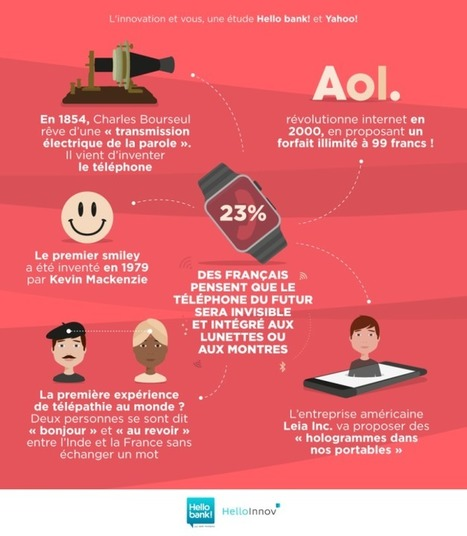 Ce que les français attendent de l'innovation (infographie) | Innovation & Data visualisation | Scoop.it