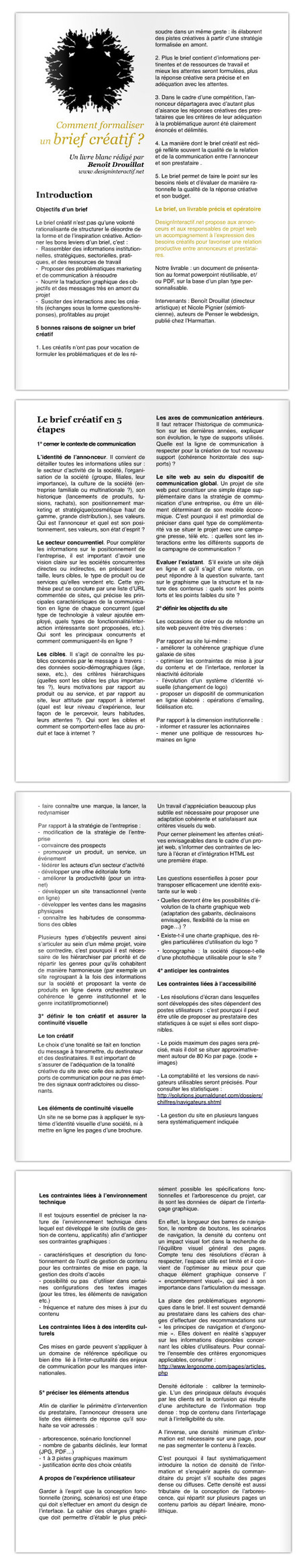 Comment Formaliser Un Brief Créatif — [Naro] Minded | formation 2.0 | Scoop.it
