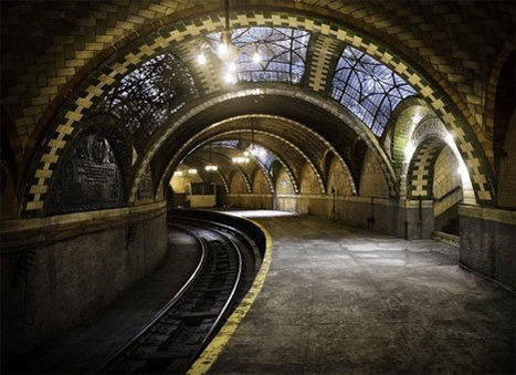 Subterranean History: Beautiful Abandoned NYC Subway Station | Urban Life | Scoop.it