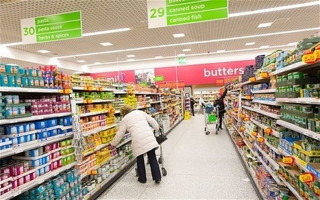 UK grocery sales fall for first time on record as supermarkets slump - Telegraph.co.uk | Strategic Management Analysis: Tesco and the supermarket industry in the UK | Scoop.it
