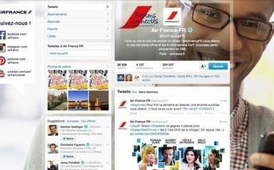 Air France accessible non-stop sur les réseaux sociaux | Le marketing digital du tourisme | Scoop.it
