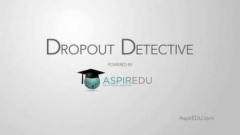 Learning Analytics Roadmap: An ROI On Dropout Detective™ [LAR Series #3] | my e-education | Scoop.it