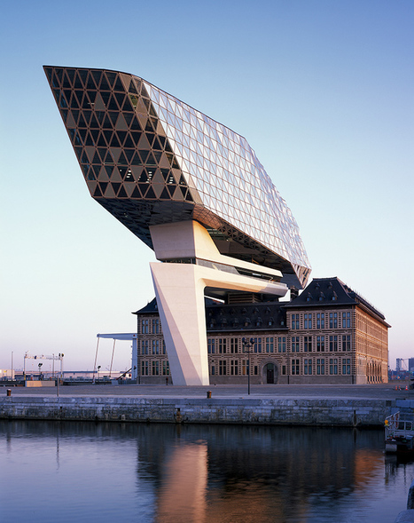 Zaha Hadid Architects Construct Floating Ship on Historical Port House in Antwerp | Le It e Amo ✪ | Scoop.it