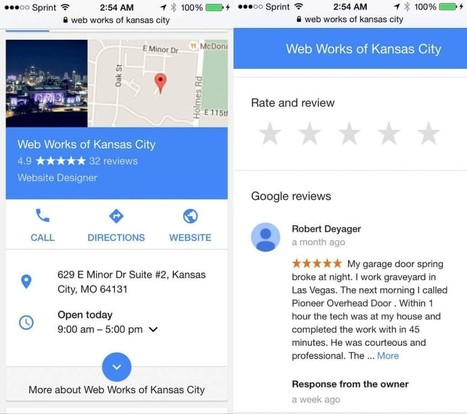 How to get clients to leave a Google My Business review | BassLine | Scoop.it