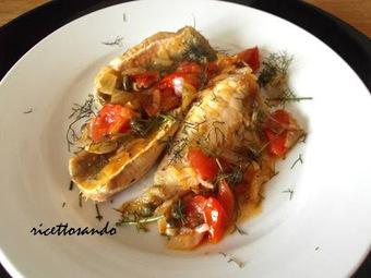 Ricettosando - ricette di cucina e chiacchiere: Filetti di pesce alla lampedusana | FOOD BLOG | Scoop.it