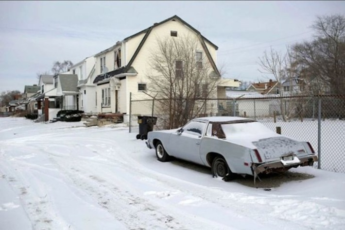 Detroit: Photos of the Motown ghost cars | Visiting The Past | Scoop.it