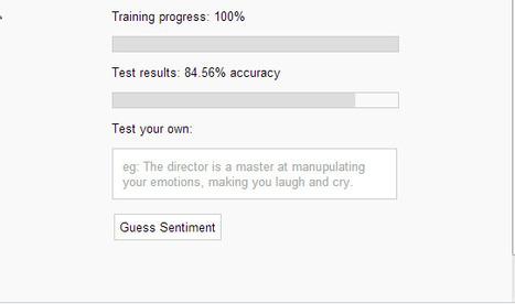 Machine Learning: Sentiment Analysis Algorithm Tutorial in JavaScript | Data Analytics | Scoop.it