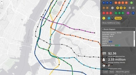 Redessiner le MÉTRO de New York : un jeu d'enfant ? | L'Atelier : Accelerating Innovation | URBANmedias | Scoop.it