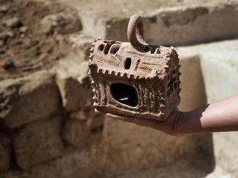 Byzantine Site in Israel Yields Church-Shaped Lantern | Science is Cool! | Scoop.it
