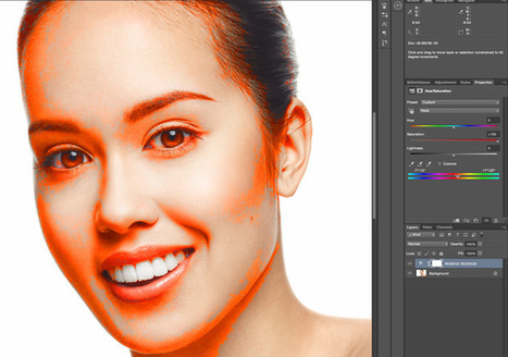 Getting Rid of Over-Saturated Reds In Skin Tones Using Photoshop | Fstoppers | Photo Retouching Techniques | Scoop.it