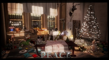 christmas isn't just a day, it's a frame of mind | Second Life Sawa's Style | Scoop.it