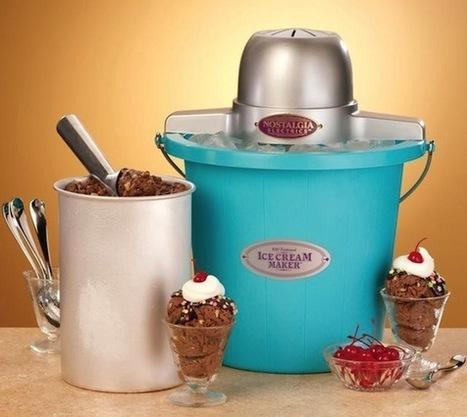 Nostalgia Electrics Ice Cream Maker | The Gadget Flow | Fun Homemade Foods | Scoop.it