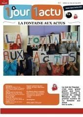 N°1  mai 2016 |La Fontaine aux actus | CLEMI -  Des nouvelles des élèves | Scoop.it