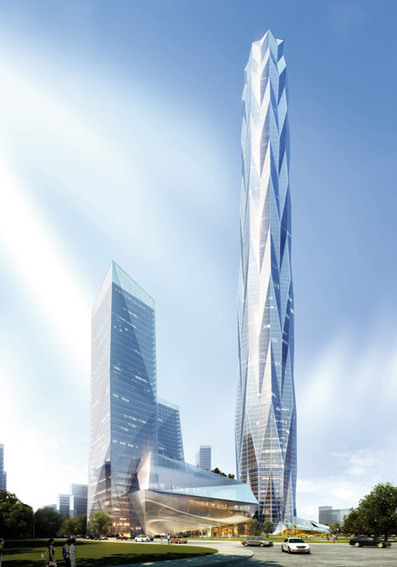 Construction starts on Smith and Gill's ice-inspired China skyscraper | sustainable architecture | Scoop.it