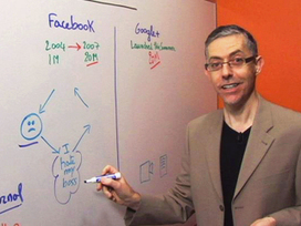 Using Google+ and Facebook in the Workplace | At the Whiteboard - CBS News Video | Business English Video | Scoop.it