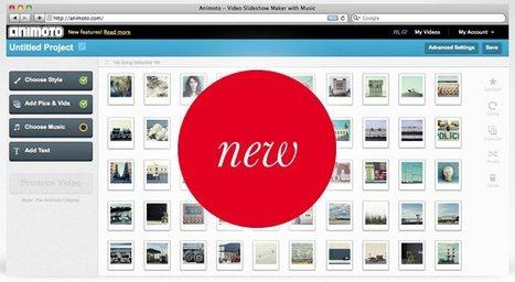 Animoto lanza una nueva versión para crear vídeos a partir de fotos, textos y músicas | Recull diari | Scoop.it
