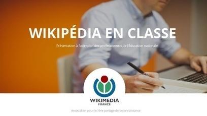 Wikipédia : Portail et kit pédagogique à destination des acteurs éducatifs | Fil Info - Ressources pour les TICE | Scoop.it