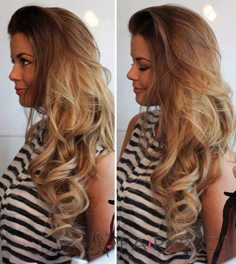 26 Inch Wavy Blonde Lace Front Human Hair : fairywigs.com | African American Wigs | Scoop.it