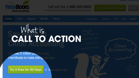 How to Create Killer Calls-to-Action Buttons | Business & Marketing | Scoop.it