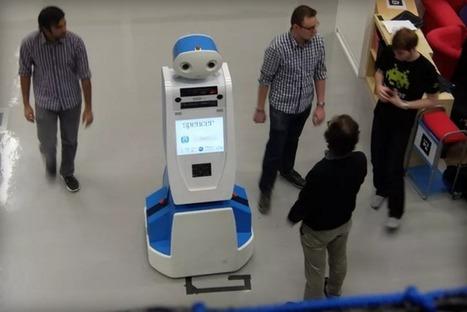 «Salut, moi c'est Spencer. Je vous aide si vous êtes perdu dans l'aéroport d'Amsterdam» | Une nouvelle civilisation de Robots | Scoop.it