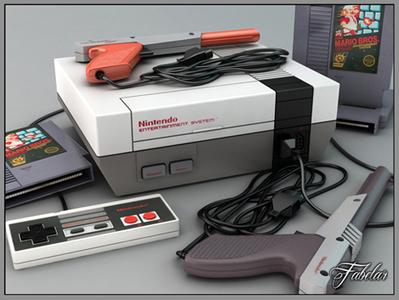 Nintendo Nes 3D | 3D Library | Scoop.it