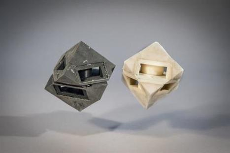 A new 3D printed, shock-absorbing material from MIT could protect robots and drones | 3D_Materials journal | Scoop.it