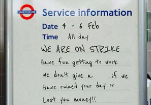 Stuck at home due to the tube strike? HighQ Collaborate keeps you working - HighQ | Enterprise Collaboration Software | Scoop.it