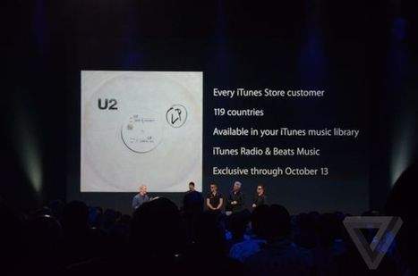 U2 releases its new album for free today exclusively on iTunes | Kill The Record Industry | Scoop.it