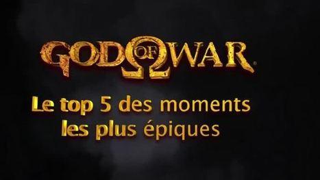 Extrait gameplay Top 5 de la Série God of War (Attention Spoilers !) | Vidéo de Jeux Vidéo | Scoop.it