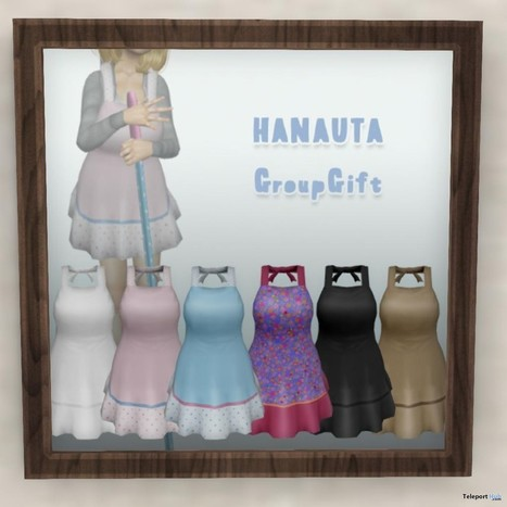 Apron 5 Colors Group Gift by HANAUTA | Teleport Hub - Second Life Freebies | Second Life Freebies | Scoop.it
