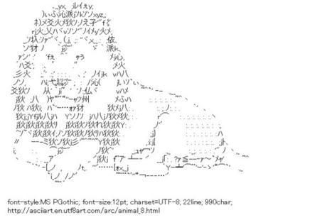 Lion (Animal) | ASCII Art | Scoop.it