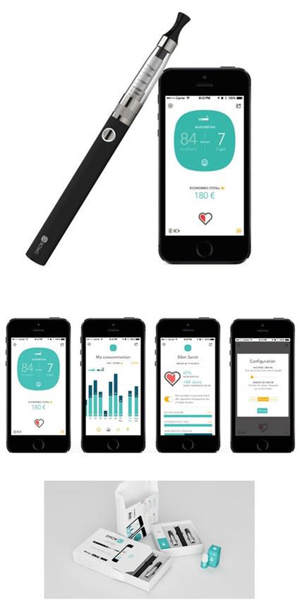 Lancement d'une première cigarette électronique connectée sur un ... - France Mobiles   cigarette virtuelle   Scoop.it