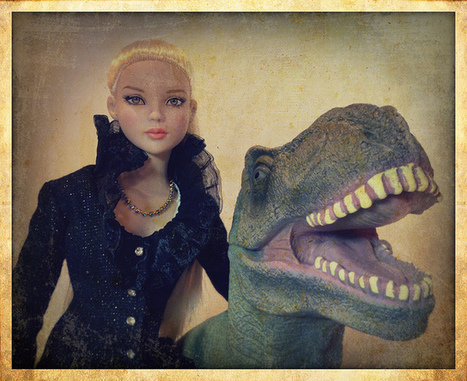 A Girl and Her Dinosaur | Virtual Identity | Scoop.it