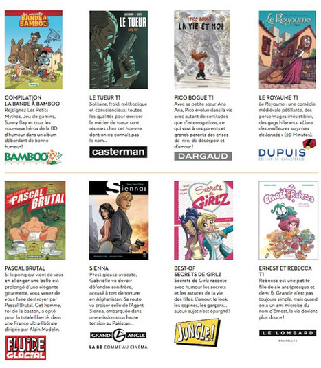 Faites le plein de BD gratuites (et pas seulement numériques !) | Livres & lecture | Scoop.it