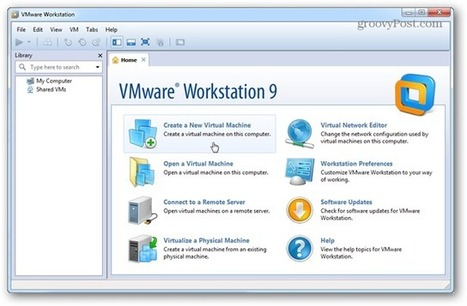 How to Create a New Virtual Machine in VMware Workstation 9 | Time to Learn | Scoop.it