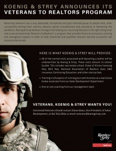 Koenig & Strey Launches Veterans to Realtors Program | Real Estate Plus+ Daily News | Scoop.it