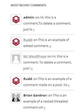 How to Display Recent Comments with Gravatar in WordPress - WPSpeak.com | WordPress Tip and Tutorials | Scoop.it