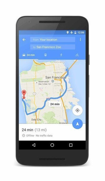 With Google's Offline Maps, Getting Around Gets Cheaper | Back Chat | Scoop.it
