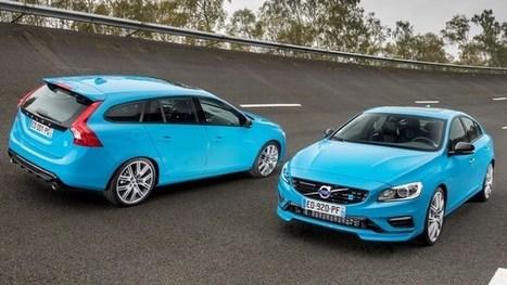 Volvo S60 et V60 Polestar : tarifs et lancement en France - le blog auto   Volvo Polestar & Team Cyan   Scoop.it