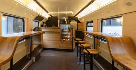 Starbucks ouvre un concept store dans un train  |  Wonderful Brands | The New Customer Experience | Scoop.it