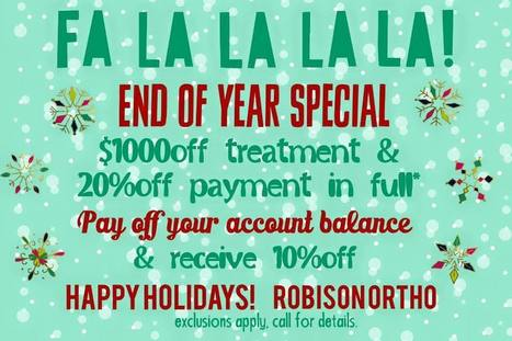Robison Orthodontics End of The Year Special | Orthodontist in Mesa and Gilbert AZ | Scoop.it