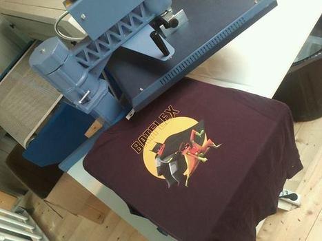 Serial Printer - Timeline Photos | Facebook | industrie textile | Scoop.it